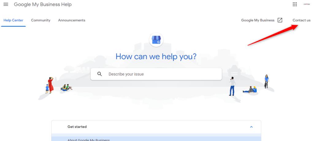 Phone Google My Business UK